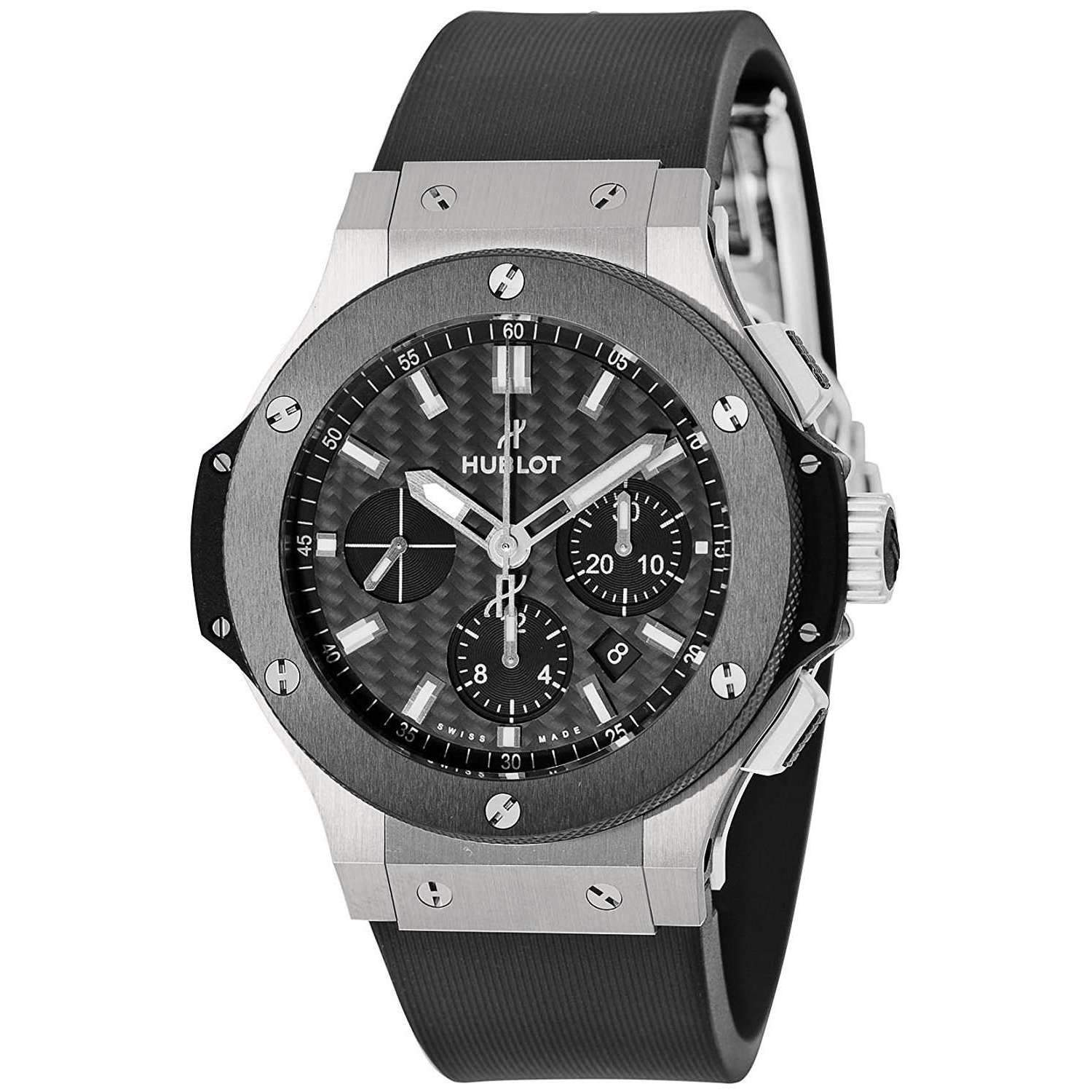 HUBLOT BIG BANG STEEL CERAMIC 44 MM MEN WATCH 301.SM.1770.RX - ROOK JAPAN