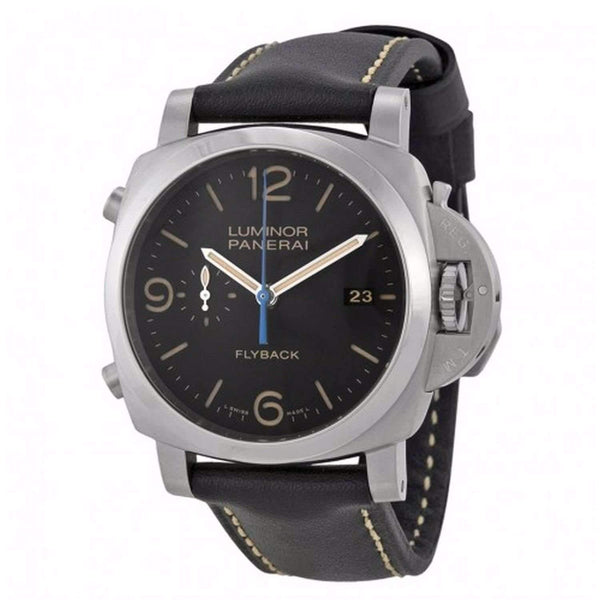 PANERAI LUMINOR 1950 3 DAYS CHRONO FLYBACK AUTOMATIC ACCIAIO - 44MM MEN WATCH PAM00524 - ROOK JAPAN