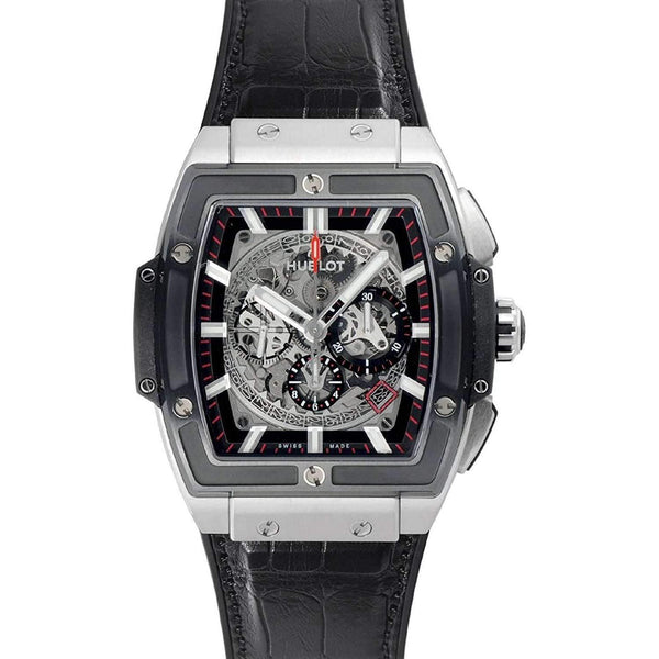 HUBLOT BIG BANG SPIRIT OF TITANIUM 45 MM MEN WATCH 601.NM.0173.LR