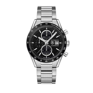 TAG HEUER CARRERA AUTOMATIC STEEL MEN WATCH CV201AL.BA0723 - ROOK JAPAN