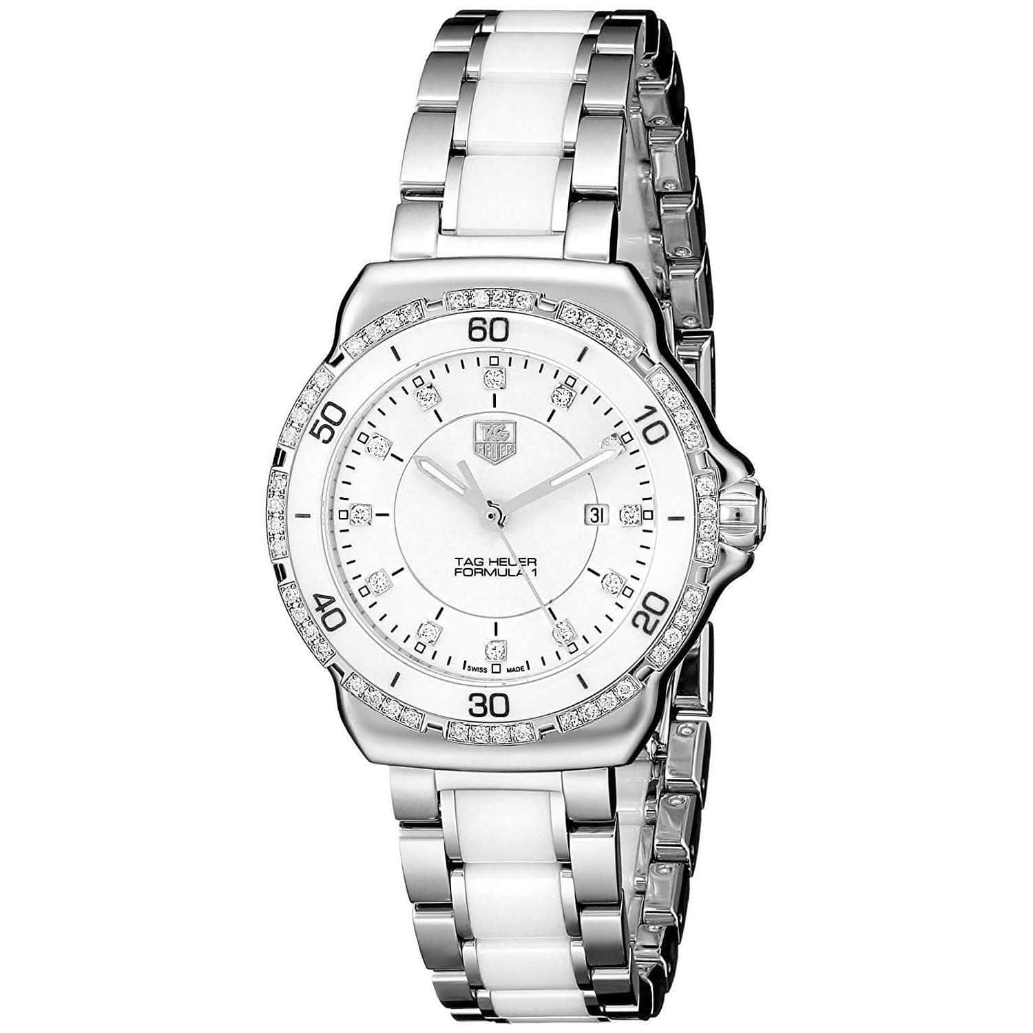 TAG HEUER FORMULA 1 STAINLESS STEEL WITH DIAMOND WOMEN WATCH  WAH1313.BA0868 - ROOK JAPAN