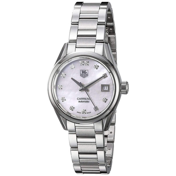 TAG HEUER CARRERA AUTOMATIC STAINLESS STEEL WOMEN WATCH WAR2414.BA0776 - ROOK JAPAN