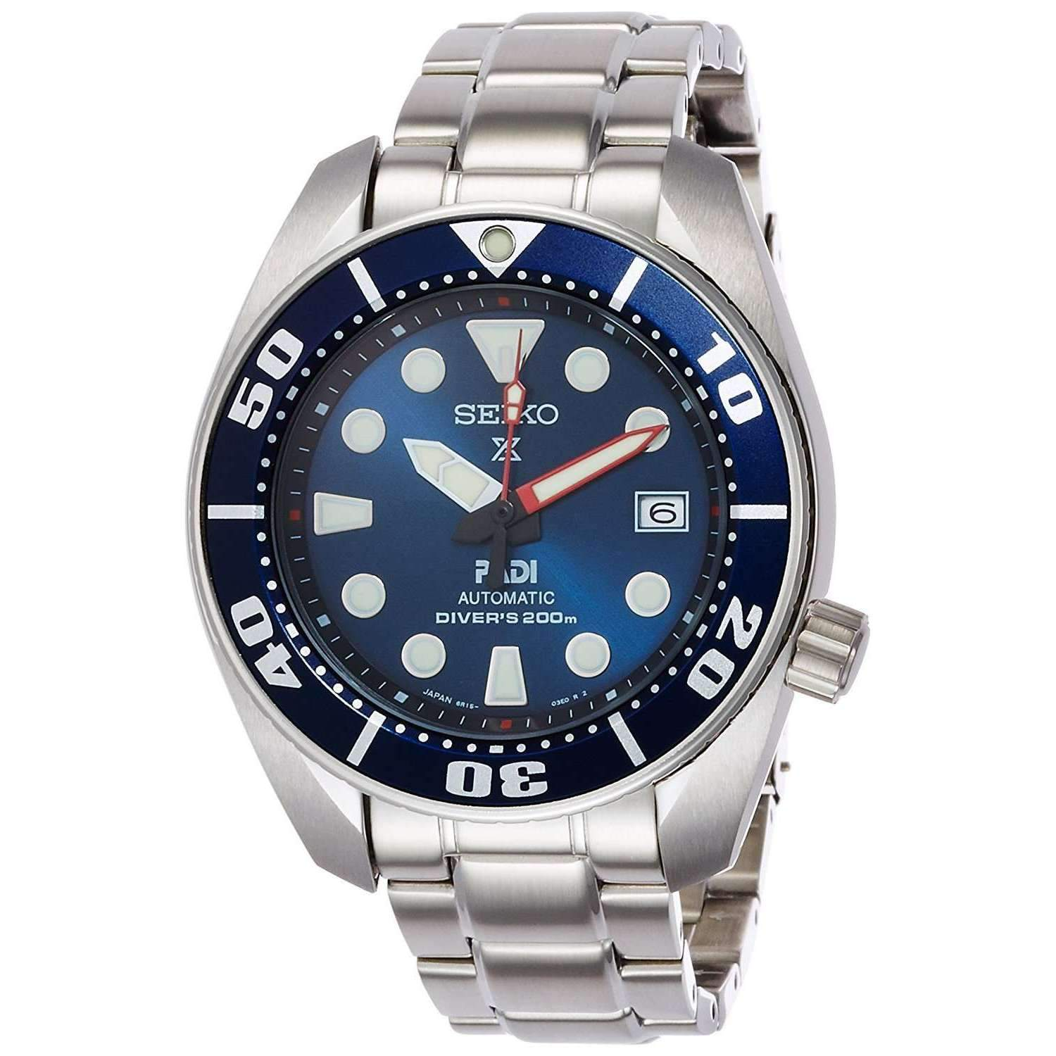 SEIKO PROSPEX PADI COLLABORATION DIVER MEN WATCH (1,000 Limited) SBDC049