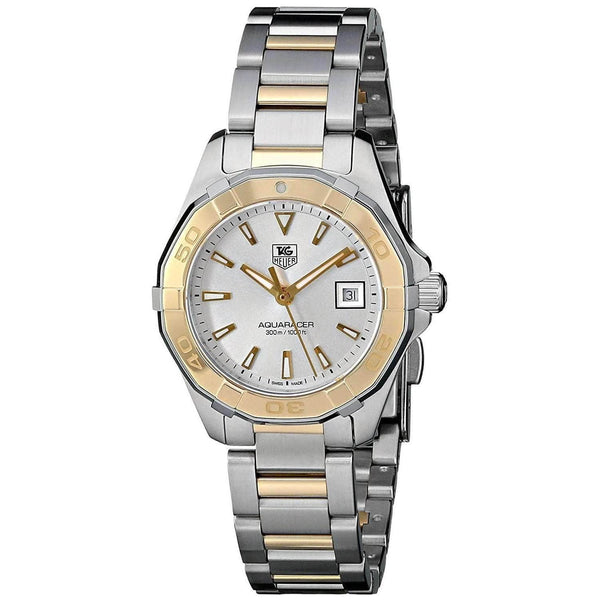 TAG HEUER AQUARACER QUARTZ TWO TONE WOMEN WATCH  WAY1455.BD0922