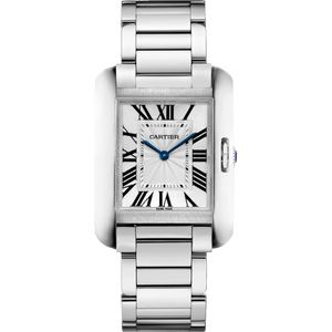 CARTIER TANK ANGLAISE SILVER WOMEN WATCH W5310044 - ROOK JAPAN