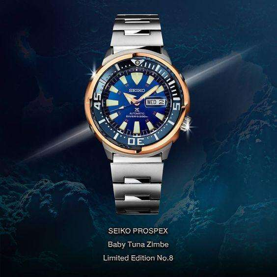 SEIKO PROSPEX ZIMBE NO.8 BABY TUNA MEN WATCH (1234 Limited) SRPC96