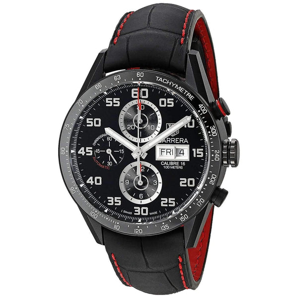 TAG HEUER CARRERA AUTOMATIC BLACK MEN WATCH CV2A81.FC6237 - ROOK JAPAN