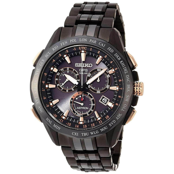 SEIKO ASTRON SOLAR GPS TITANIUM WATCH (3,000 LIMITED) SBXB019 - ROOK JAPAN