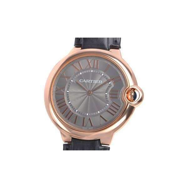 CARTIER BALLON BLEU ROSE GOLD 40 MM DIAL MEN WATCH W6920089 - ROOK JAPAN
