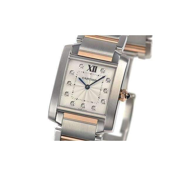 CARTIER TANK FRANCAISE ROSE GOLD 18K WOMEN WATCH  WE110005 - ROOK JAPAN
