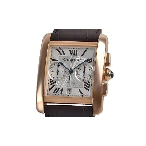 CARTIER TANK MC 18K ROSE GOLD ORIGINAL MEN WATCH  W5330005 - ROOK JAPAN