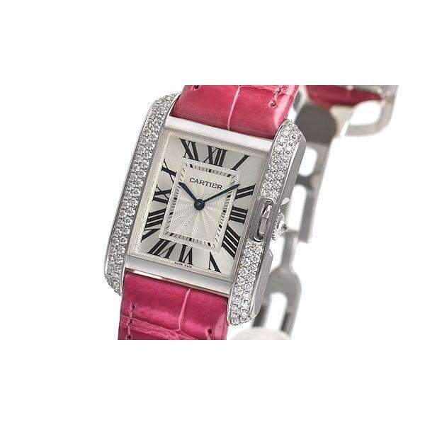 CARTIER TANK ANGLAISE MEDIUM QUARTZ WOMEN WATCH  WT100030 - ROOK JAPAN