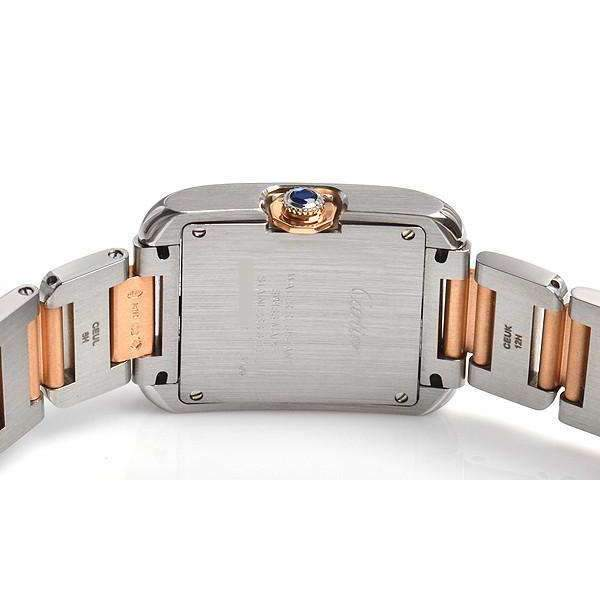 CARTIER TANK ANGLAISE ROSE GOLD 18K WOMEN WATCH  W5310043 - ROOK JAPAN