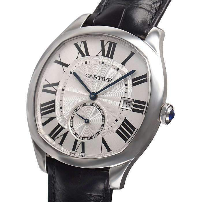 CARTIER DRIVE AUTOMATIC WHITE DIAL MEN WATCH WSNM0004 - ROOK JAPAN