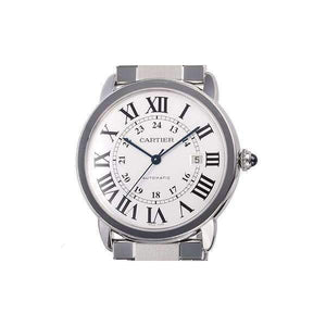 CARTIER RONDE SOLO STAINLESS STEEL 42 MM MEN WATCH W6701011 - ROOK JAPAN