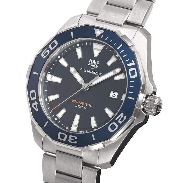 TAG HEUER AQUARACER BLUE DIAL MEN WATCH WAY101C.BA0746 - ROOK JAPAN