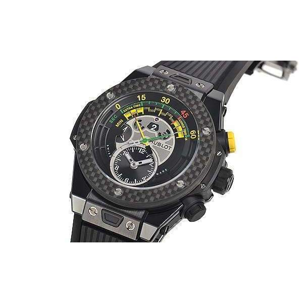 HUBLOT BIG BANG UNICO BI-RETROGRADE CHRONO CERAMIC CARBON 45 MM MEN WATCH 412.CQ.1127.RX - ROOK JAPAN