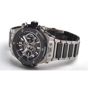 HUBLOT BIG BANG UNICO TITANIUM CERAMIC BRACELET 45 MM MEN WATCH 411.NM.1170.NM - ROOK JAPAN