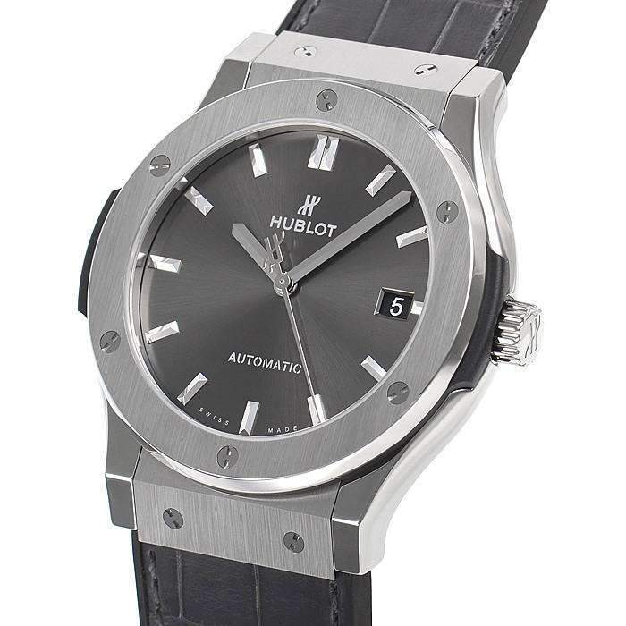 HUBLOT ClASSIC FUSION RACING GREY TITANIUM 45 MM  MEN WATCH 511.NX.7071.LR - ROOK JAPAN