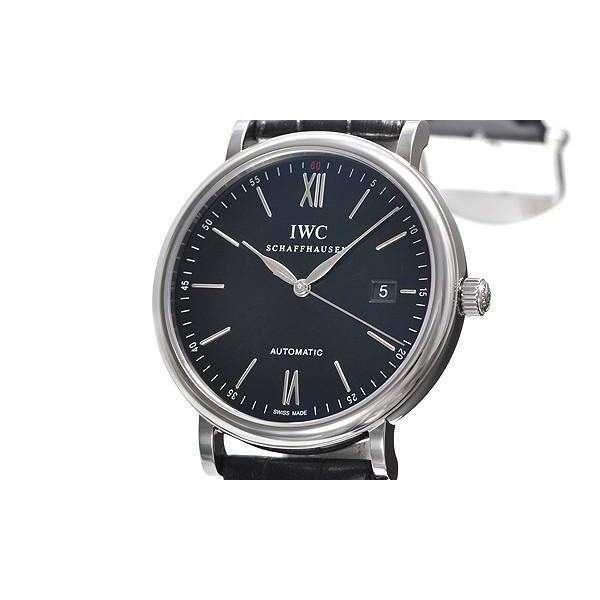 IWC PORTOFINO AUTOMATIC BLACK MEN WATCH  IW356502 - ROOK JAPAN
