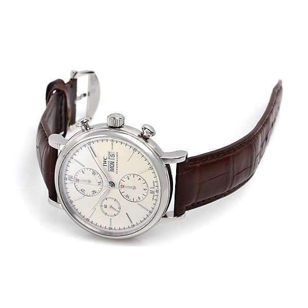 IWC PORTOFINO CHRONOGRAPH SILVER MEN WATCH IW391007 - ROOK JAPAN