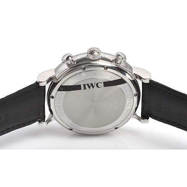 IWC PORTOFINO CHRONOGRAPH BLACK MEN WATCH IW391008 - ROOK JAPAN