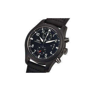 IWC PILOT'S TOP GUN BLACK CHRONOGRAPH MEN WATCH IW388007 - ROOK JAPAN