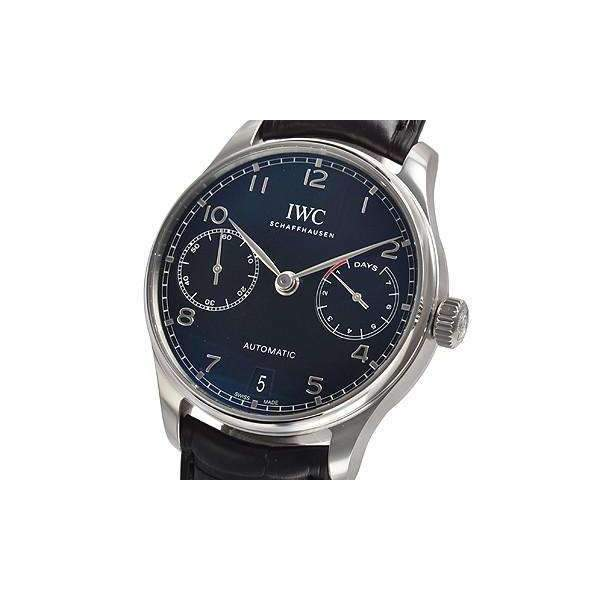 IWC PORTUGIESER BLACK AUTOMATIC MEN WATCH  IW500703 - ROOK JAPAN
