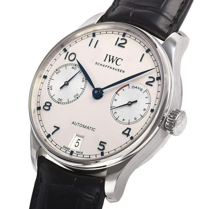 IWC PORTUGIESER BLUE AUTOMATIC MEN WATCH  IW500705 - ROOK JAPAN