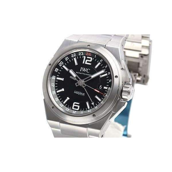 IWC INGENIEUR DUAL TIME MEN WATCH IW324402 - ROOK JAPAN