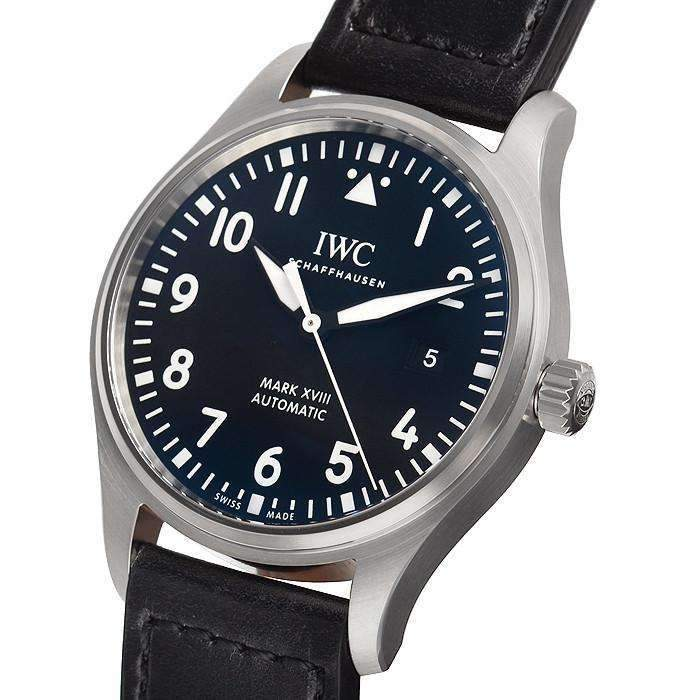 IWC PILOT'S MARK XVIII BLACK MEN WATCH IW327001 - ROOK JAPAN