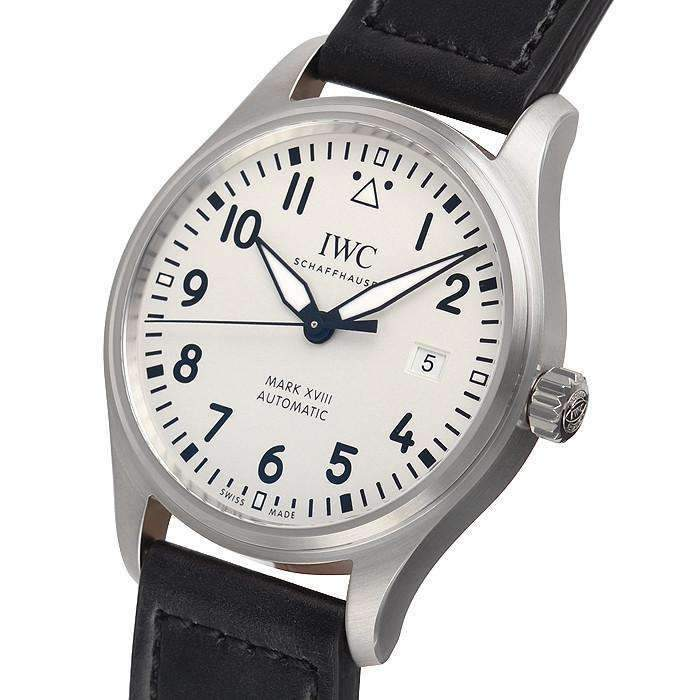 IWC PILOT'S MARK XVIII SILVER MEN WATCH IW327002 - ROOK JAPAN