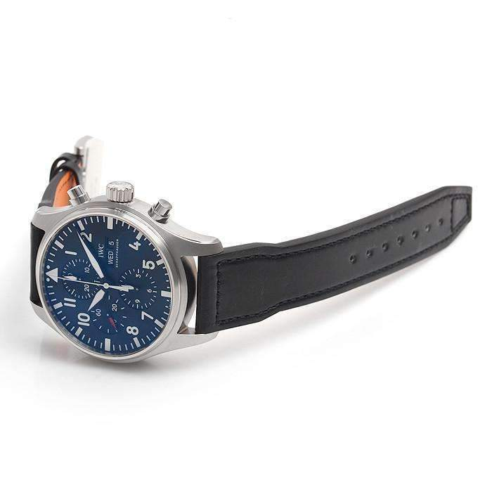 IWC PILOT'S CHRONOGRAPH BLACK MEN WATCH IW377709 - ROOK JAPAN