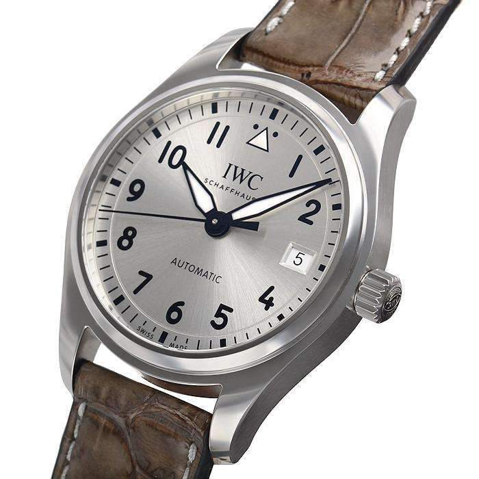 IWC PILOT'S AUTOMATIC SILVER MEN WATCH IW324007 - ROOK JAPAN