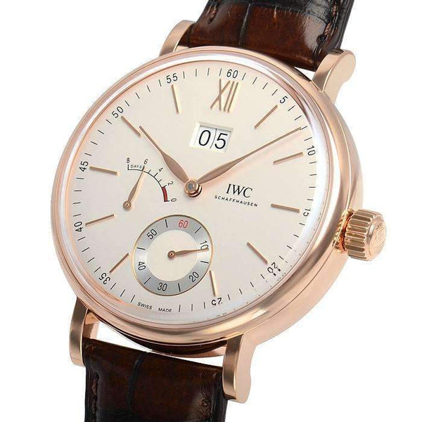 IWC PORTOFINO HAND-WOUND BIG DATE MEN WATCH IW516102 - ROOK JAPAN