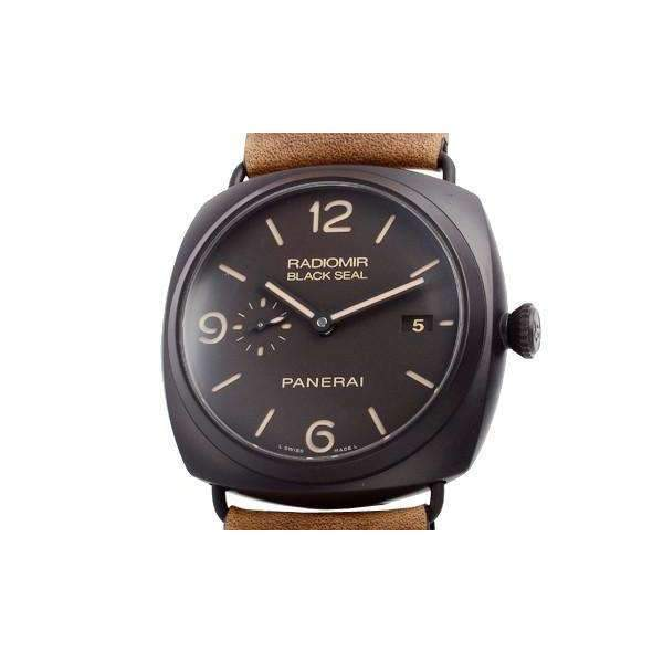 PANERAI RADIOMIR COMPOSITE BLACK SEAL 3 DAYS AUTOMATIC - 45MM MEN WATCH PAM00505 - ROOK JAPAN