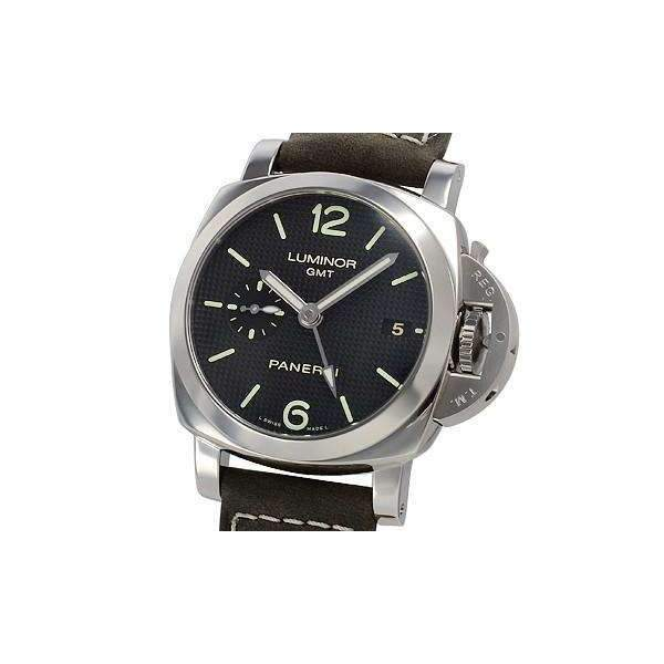 PANERAI LUMINOR 1950 3 DAYS GMT AUTOMATIC ACCIAIO - 42MM MEN WATCH PAM00535 - ROOK JAPAN