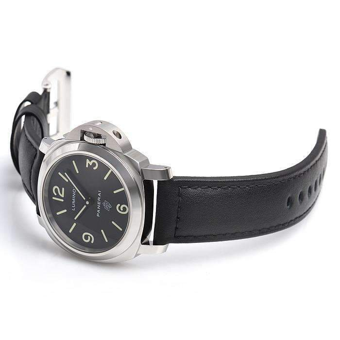 PANERAI LUMINOR BASE LOGO ACCIAIO - 44MM MEN WATCH PAM01000 - ROOK JAPAN