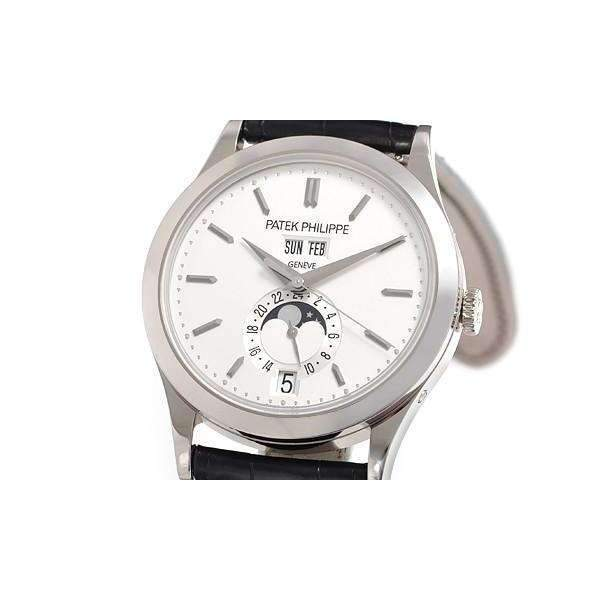 PATEK PHILIPPE ANNUAL WHITE GOLD MEN WATCH 5396G-011 - ROOK JAPAN