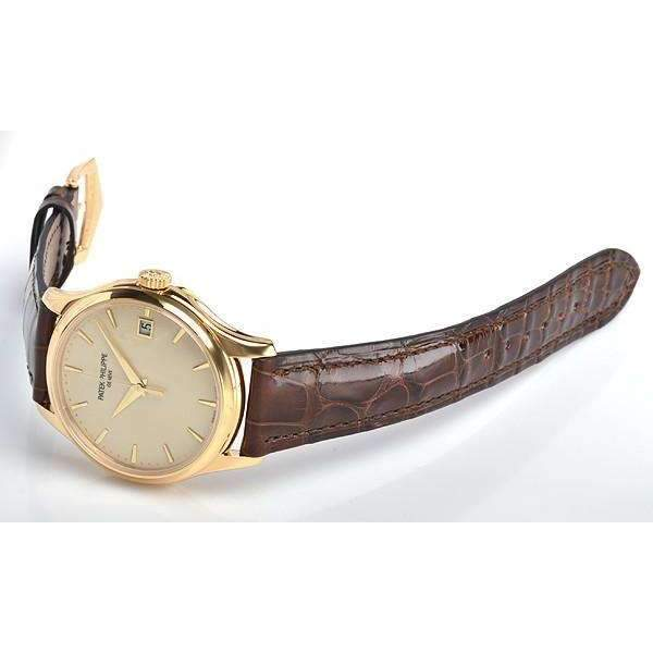 PATEK PHILIPPE CALATRAVA YELLOW GOLD MEN WATCH 5227J-001 - ROOK JAPAN