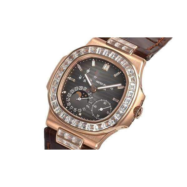 PATEK PHILIPPE NAUTILUS ROSE GOLD DIAMONDMEN WATCH  5724R-001 - ROOK JAPAN