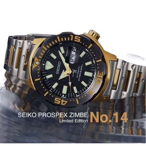 SEIKO PROSPEX ZIMBE NO.14 KOMODO DRAGON MEN WATCH (1500 Limited) SRPF34K1