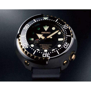 SEIKO PROSPEX MARINE MASTER SPRING DRIVE GOLDEN TUNA WATCH (Limited Edition 300pcs) SBDB008 - ROOK JAPAN