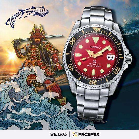 SEIKO PROSPEX ZIMBE NO.11 SHOGUN MEN WATCH (500 Limited) SPB099J
