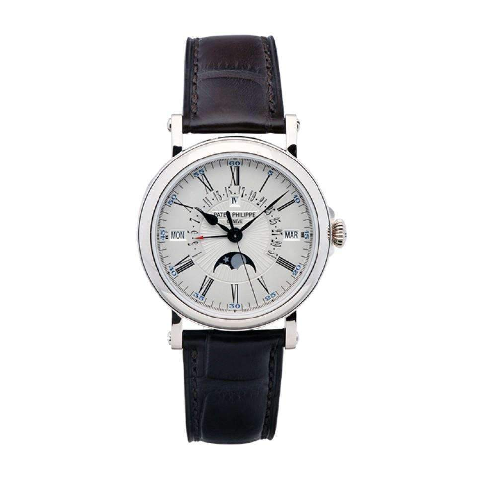 PATEK PHILIPPE GRAND COMPLICATIONS RETROGRADE 38 MM WHITE GODL MEN WATCH 5159G-001 - ROOK JAPAN