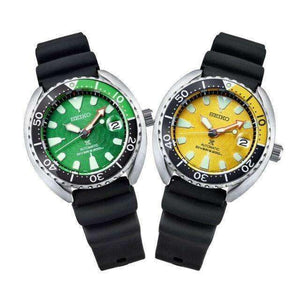 SEIKO PROSPEX ZIMBE NO.10 MINI TURTLE MEN WATCH (999 Limited) SRPD17K1-SRPD19K1