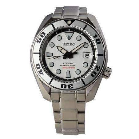 SEIKO SILVER SUMO MEN WATCH (1,965 Limited) SPB029 - ROOK JAPAN