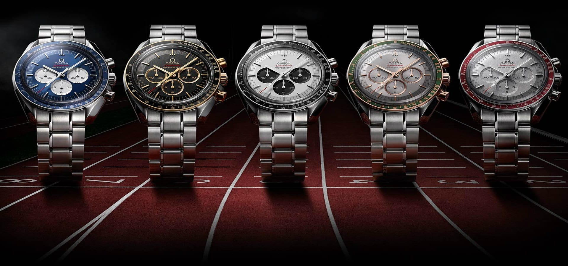 Omega Speedmaster Tokyo 2020 Olympics Collection