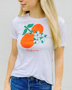 Melbourne Florida orange blososm tee