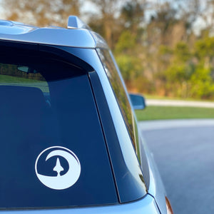 Shuttle Logo Car Decal